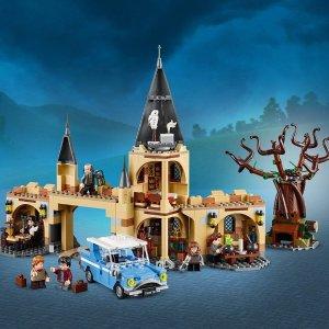 现价 £54.99(原价£59.99)补货:Lego 乐高 哈利波特系列 75953 霍格沃茨城门与打人柳