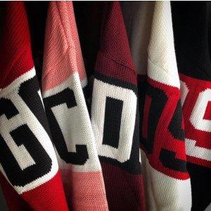 满额8.5折 收明星同款卫衣GCDS正价商品热卖 帽衫$200+