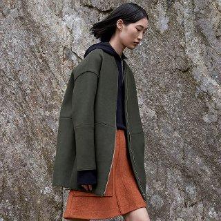 首单9折 封面款羊毛短大衣£135COS 秋冬新款上架 大衣、毛衣和针织衫保你温暖一冬