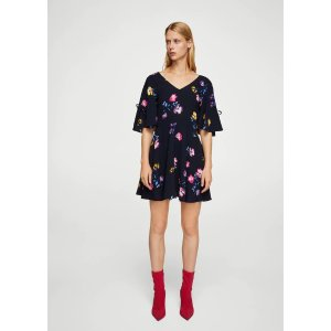 MangoBow printed dress - Women | OUTLET USA