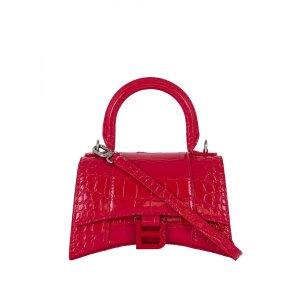 Balenciaga大红色手提包