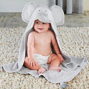 Baby Aspen小象浴袍