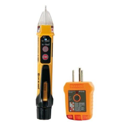 Klein Tools 2-Piece Non-Contact Voltage Tester