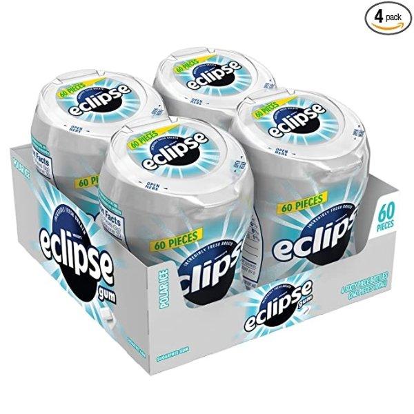 ECLIPSE 极地冰无糖口香糖,4罐