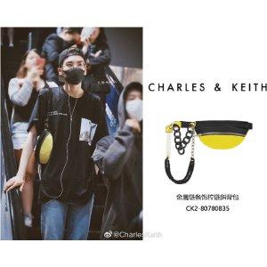 Charles & Keith折扣商品毕雯珺同款腰包