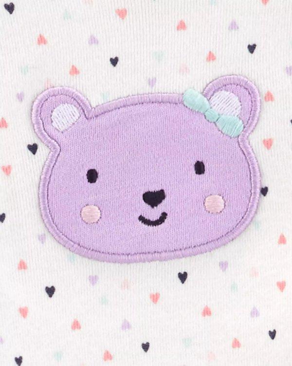 婴儿小熊3件套