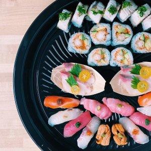寿司套餐3.1折 低至£14.5/人Sushi Cafe 寿司套餐热促 生鱼片、手握敞开吃