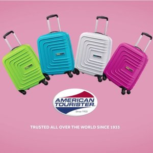 $44.00American Tourister 美旅 Sunset Cruise系列 彩色硬壳行李箱
