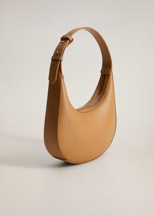 Oval short handle bag -  Women | Mango USA