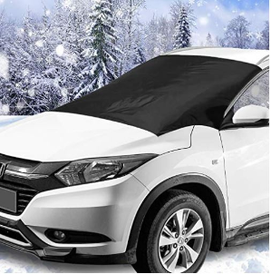 闪购$14.39(原价$20.49)SUKCESO多用途挡风防雪防晒汽车玻璃罩
