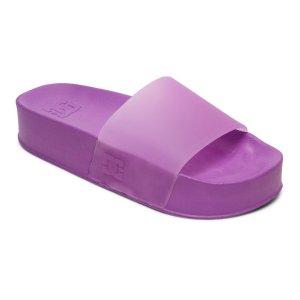 女款彩色厚底拖鞋 三色选