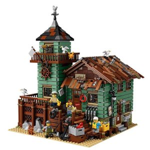$129.99(原价$149.99) 难得好价史低价:LEGO 乐高 ideas系列 老渔屋21310