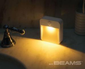 $9.6(原价$17.99)史低价:Mr. Beams MB720A 智能感应小夜灯