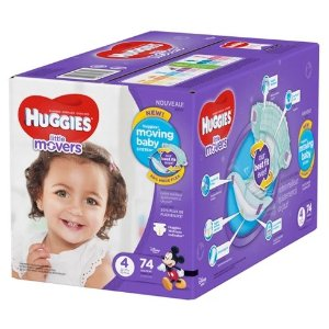 HuggiesLittle Movers Diapers Super Pack (Select Size)