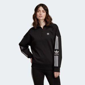 Adidas半拉链套头衫