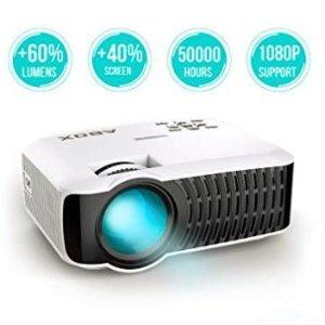 $109.99(原价$179.99)GooBang Doo 便携式LED投影仪/家庭影院特卖