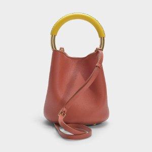 MarniPannier Bag in Clay Calfskin