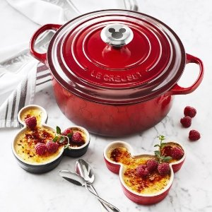 Free GWP - Mickey Mouse RamekinsWith purchase of Mickey Mouse Round Dutch Oven @ Le Creuset
