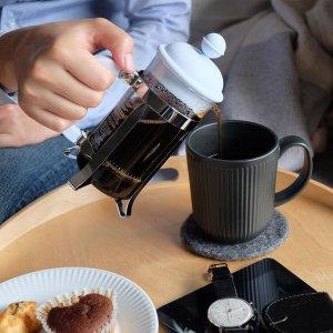 """6折起 $17收旅行版法压壶Bodum 法式滤压壶 简洁方便又不失咖啡原香的""""冲泡""""方式"""