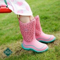 低至4折Muck 儿童雨靴、雨鞋特卖 宝宝的小脚丫不再凉凉的