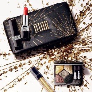 $107入彩妆盘 送#999等5件套即将截止:Dior 2020新春限定 鼠年鸿运高定彩妆 绝美上市