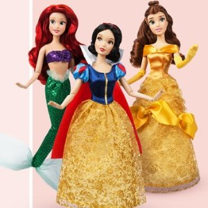 仅$9/个,原价$14.95即将截止:迪士尼官网 多款玩偶买两个则$12/个+额外7.5折
