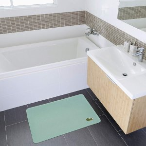Lacoste 鳄鱼牌浴室记忆棉防滑垫,多色可选