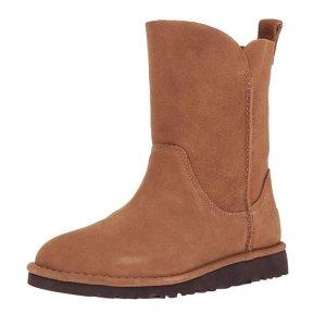 现价$28.41(原价$130) 5码福利逆天价:UGG 女士基本款雪地靴热卖 沙色