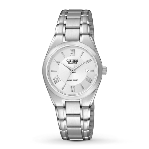 CITIZEN Silver Dial Ladies Watch EU3060-51A