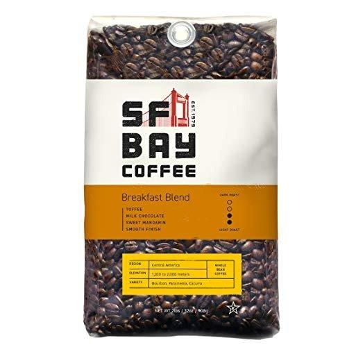 SF Bay Coffee 咖啡豆 中度烘焙 2磅装