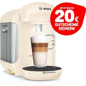 还送€20咖啡代金券+新用户€15代金券Bosch Tassimo Vivy2 最新版 全自动胶囊咖啡机  折后仅€29