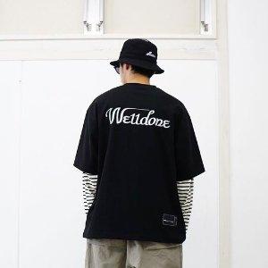 低至4折+上新 棒球帽$42We11done 潮流专场 Logo 反光T恤$184,弹幕卫衣$220