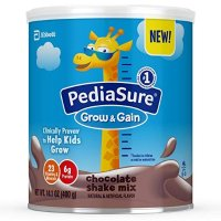 PediaSure Grow & Gain 非转基因巧克力味营养乳饮14.1 盎司,3罐