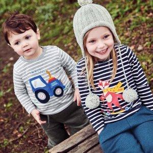 买2件,第3件免费 相当于6.7折JoJo Maman Bébé 英伦高品质童装特卖 入手秋季新款好时机