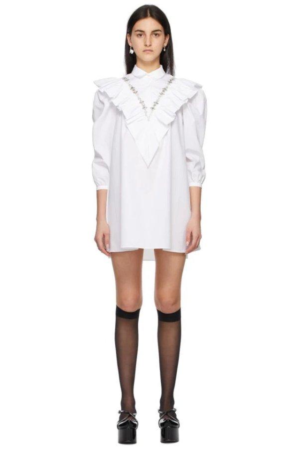 SHUSHU/TONG 衬衫连衣裙