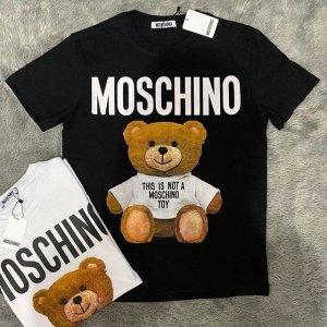 全场5折 €60起收经典T恤Moschino 男士专场打折季热卖 收Logo短袖、卫衣