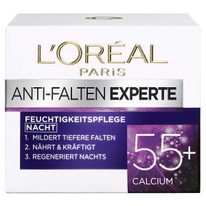 3瓶超值价¥136L'Oréal Paris 抗皱专家 保湿护肤晚霜 50ml