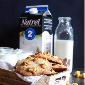 $8.53 一盒$1.42Natrel 2%无乳糖低脂牛奶 32 oz. 6盒装