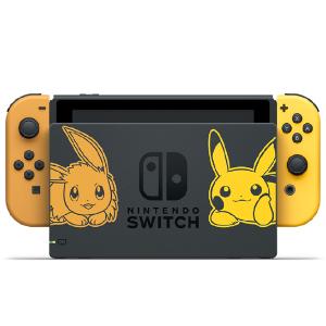 抢购价$599  情人节送男友,回国可退税Nintendo Switch 皮卡丘限量纪念版游戏机