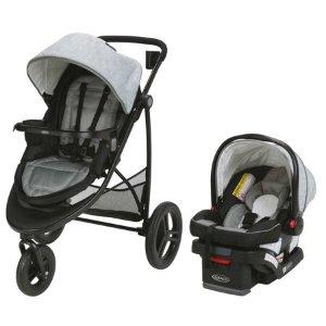 $159Modes 3 Essentials LX 双向童车、婴儿安全座椅旅行套装