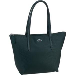 Lacoste深绿色购物袋