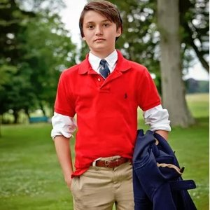 低至6折+额外7折Polo Ralph Lauren 儿童服饰特卖