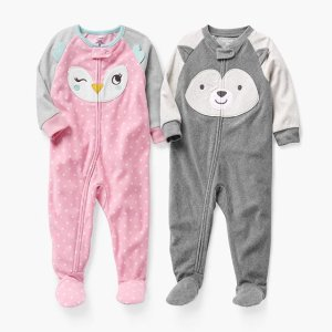$7 + Free ShippingBlack Friday Sale Live: Carter's Famous Fleece Footies