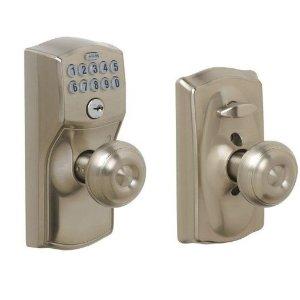$99.44(原价$199.7)Schlage FE595 CAM 619 GEO 防盗键盘门锁