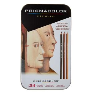 $11.88(原价$25.49)Sanford 25085R 肖像专用色系彩色铅笔 24支