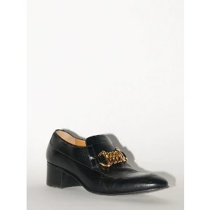 Gucci50MM CHAIN LEATHER LOAFERS