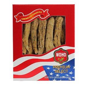 WOHO购物$100或以上再减15%,低至$32.9/盒精选美国花旗参#099.4 长枝巨无霸4oz盒装