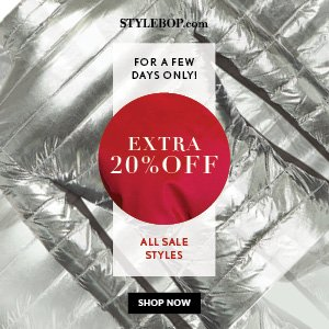 Up to 50% Off + Extra 20% OffWinter Sale 18 F/W Styles @ Stylebop