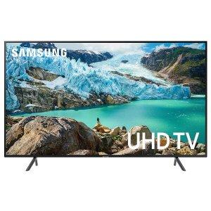 新低价:Samsung 55吋 4K HDR 智能电视 UN55RU7100FXZA