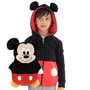 低至$17.5收CUBCOATS 儿童2-合-1卡通造型帽衫 秒变毛绒玩偶